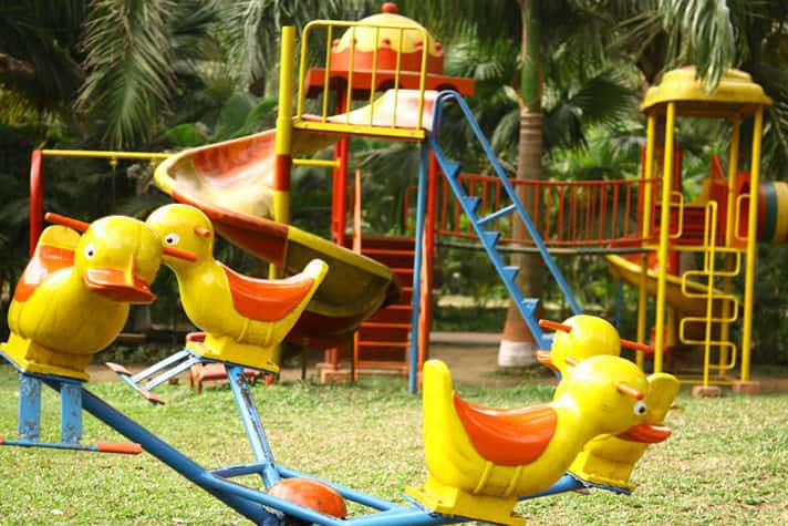 Children Park at Hotel Toshali Sands Puri