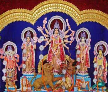 Maa Durga Puja Festival at Puri odisha india