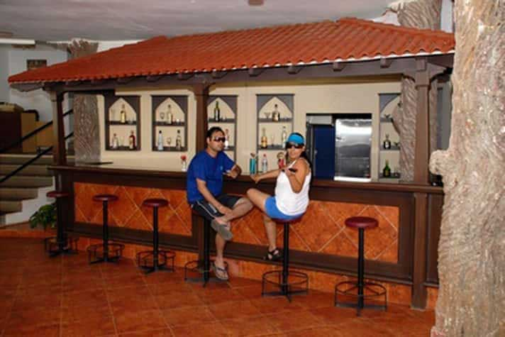 Bar at Goa Beach Resort