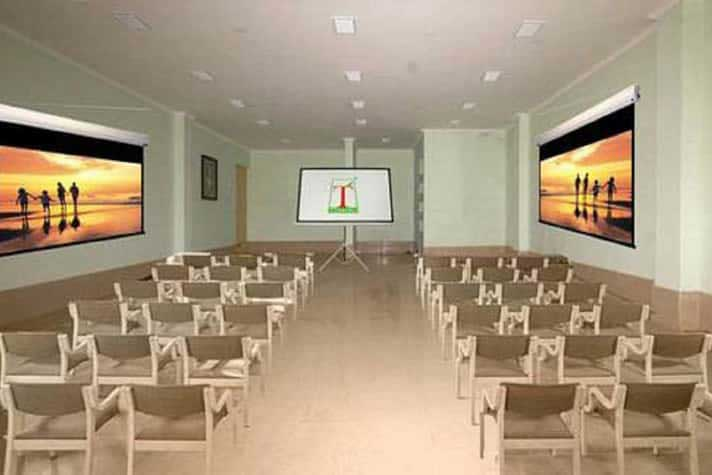 conference hall at Tosali Ratnagiri