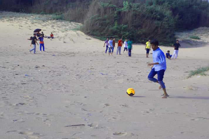 Outdoor Games at Hotel Toshali Sands Puri