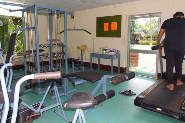 Gym at Hotel Toshali Sands Puri