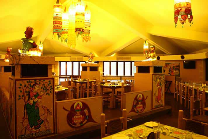Multi cuisine restaurant at Hotel Toshali Sands Puri