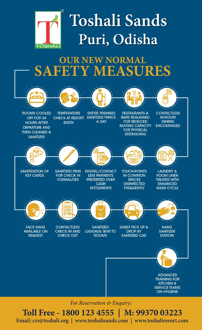 SAFETY MEASURES OF COVID 19