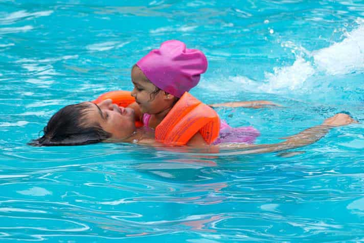 Swimming Pool at Hotel Toshali Sands Puri