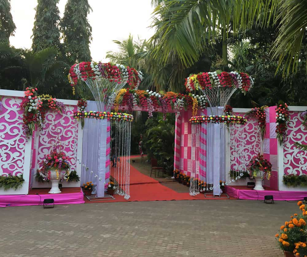 Wedding Stage D�cor